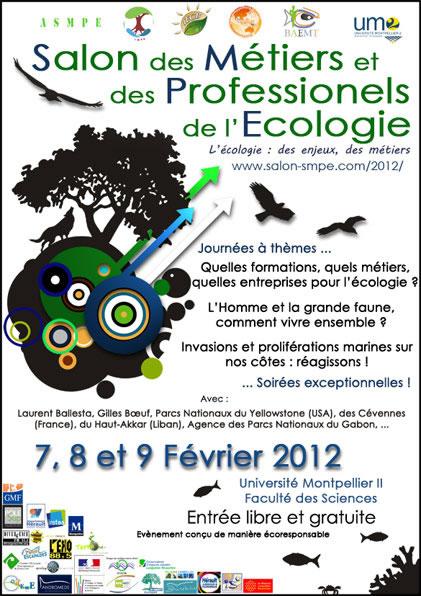 affgiche salon de l'écologie 2012