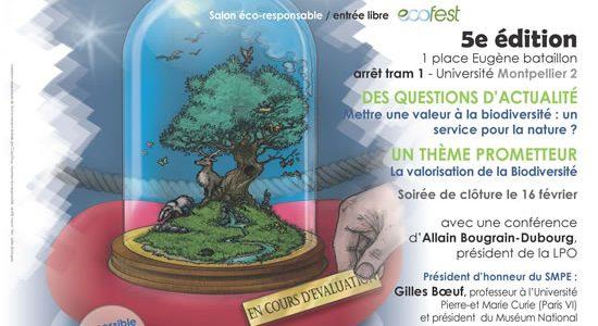 affiche du salon de l'écologie 2013